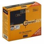 CD-R INTENSO 700 MB/80 Min 52X SLIM CASE 10