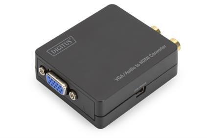 CONVERSOR VIDEO DIGITUS VGA A HDMI 1920X1080