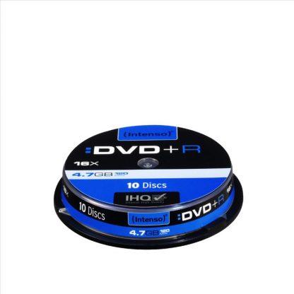 DVD+R INTENSO 4,7GB 16X SLIM CASE 10