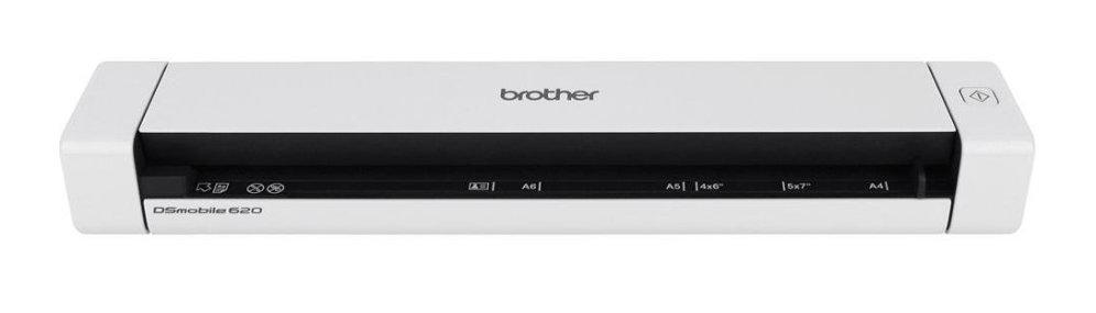 ESCANER BROTHER DS-620 PORTATIL A4 DOCUMENTOS  COLOR