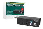 KVM DIGITUS SWITCH 1USER 2 PC (POR PS/2 O USB) INCLU. 2 CABLE SET 1,8M