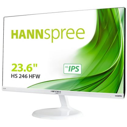 "MONITOR HANNS HS246HFW 23,6"" IPS 1920x1080 7MS HDMI ALTAVOCES BLANCO"