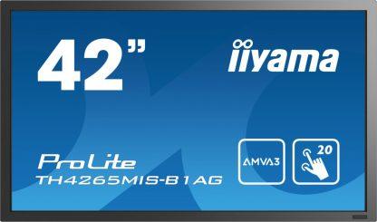 "MONITOR IIYAMA TACTIL 42"" INFRARROJO FULLHD USB RS232 VGA HDMI ETHERNET"