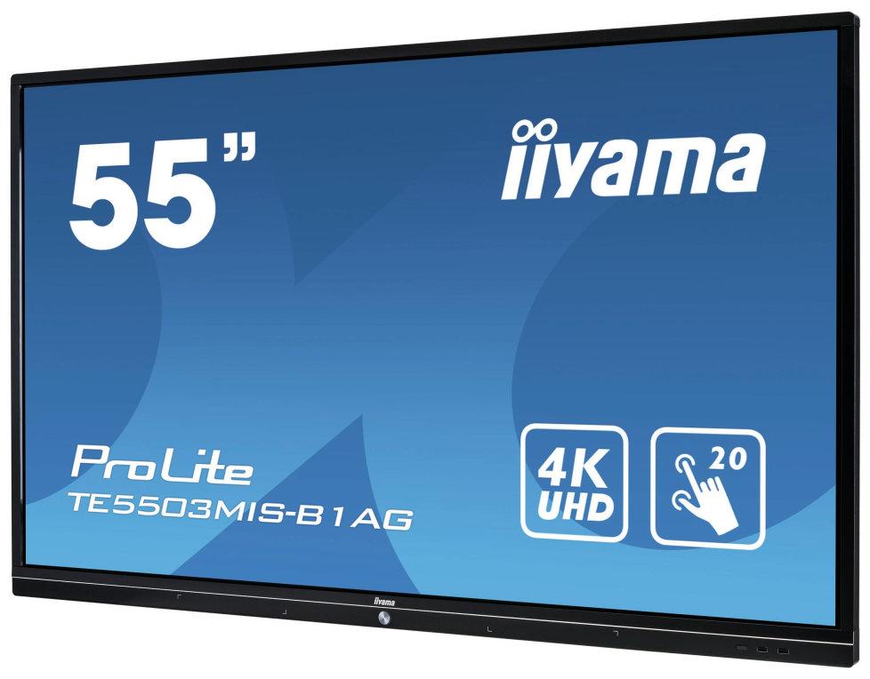 "MONITOR IIYAMA TACTIL 55"" INFRARROJO FULLHD USB RS232 VGA HDMI ETHERNET"