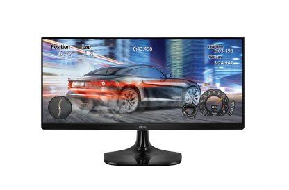 """MONITOR LG 25UM58-P 25"""" IPS 2560x1080 5MS HDMI NEGRO"""