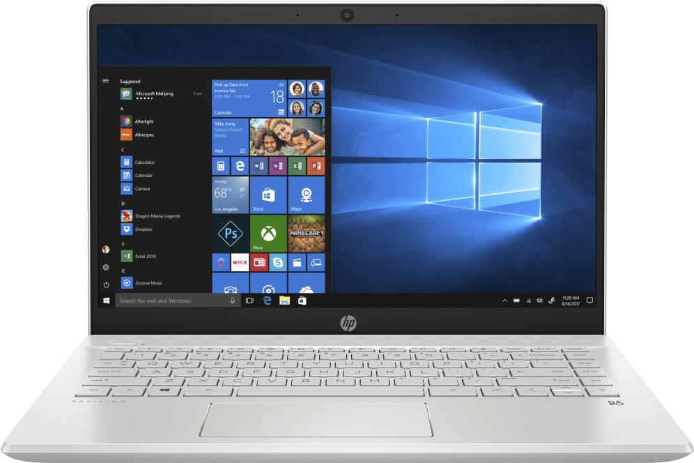"PORTATIL HP PAVILION 14-CE3008NS I5-1035 8GB 512GBSSD GFMX130 2GB 14"" W10H BLANC"