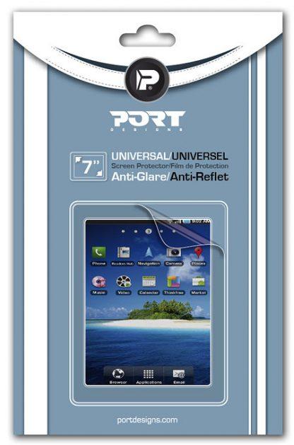 """PROTECTOR DE PANTALLA PORT TABLET UNIVERSAL 7"""""""