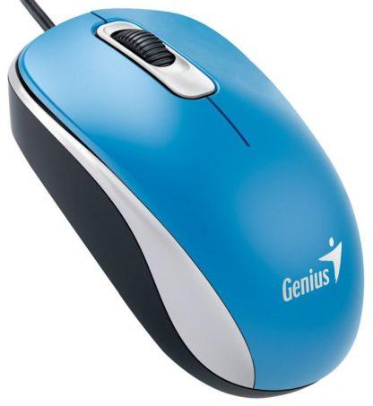 RATON GENIUS DX 110 USB ALAMBRICO AZUL