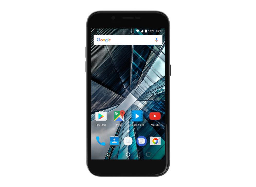 "SMARTPHONE ARCHOS SENSE 50DC 5"" IPS 2GB 16GB NEGRO QUAD F5MPX T13MPX 7.0 4G"