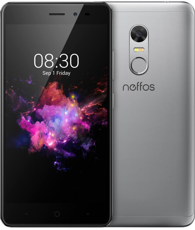 "SMARTPHONE TP-LINK NEFFOS X1 LITE 5"" 2GB 16GB GRIS OCT HUELL F5MPX T13MPX 7.0 4G"
