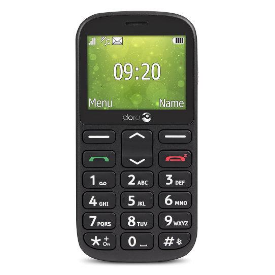 "TELEFONO MOVIL SENIOR DORO 1361 2,4"" NEGRO T2MPX"