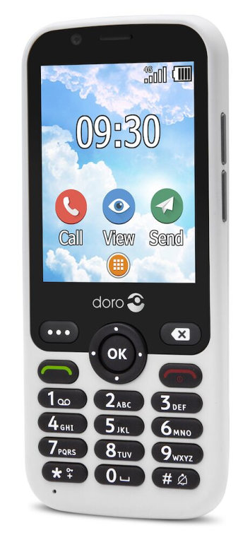 "TELEFONO MOVIL SENIOR DORO 7010 2,8"" 512MB 4GB BLANCO T3MPX"