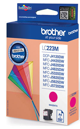TINTA BROTHER LC223MBP MAGENTA