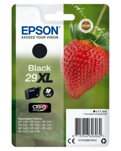 TINTA EPSON CLARIA 29 NEGRO XP235 XP332 XP335 XP432 XP435