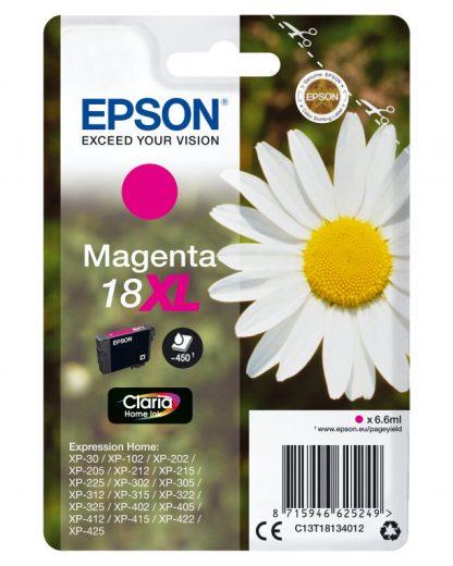 TINTA EPSON EXPRESION HOME 18XL MAGENTA  XP102 205 215 305 405