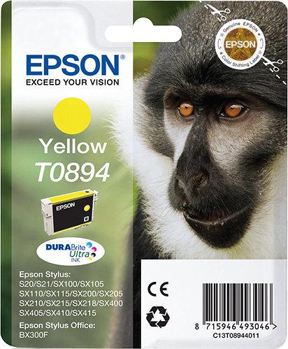 TINTA EPSON STYLUS AMARILLA S20 SX105 SX205 405