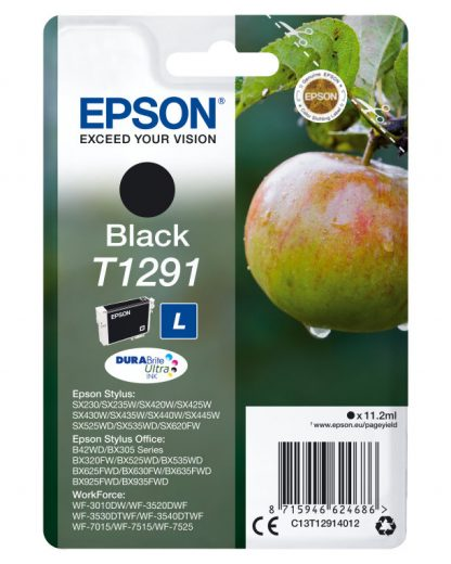 TINTA EPSON T1291 NEGRO SX420W 425W OFFICE BX305F 320FW