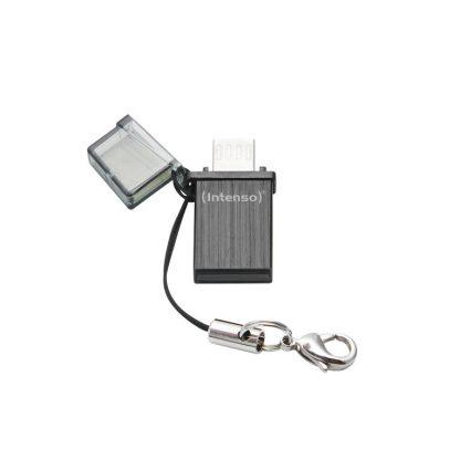 USB 2.0 INTENSO 8GB MINI LINE NEGRO