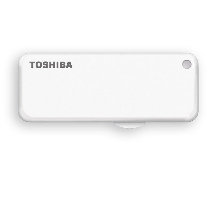 USB 2.0 TOSHIBA 64GB U203 BLANCO