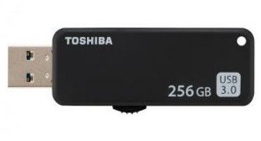 USB 3.0 TOSHIBA 256GB U365 NEGRO